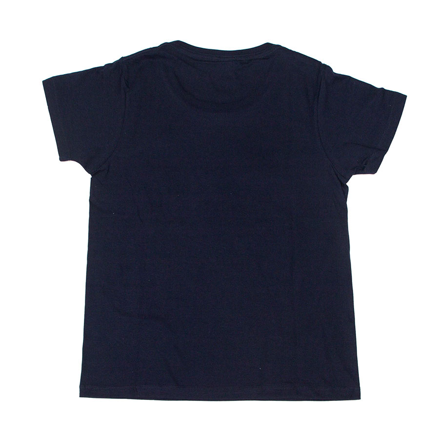 Tシャツ レディース<うまくいく紋・ネイビー> 【クリックポスト:容量80】