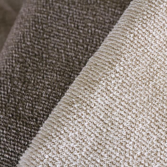 キュア 北欧 リネン パイル織 タオル40x60 リッチバニラ