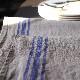 CALIENTE リトアニア リネン 麻 100% カンパーニュ M クロス キッチン タオル プレースマット ブルー 青