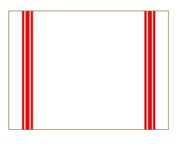 CALIENTE リトアニア リネン 麻 100% カンパーニュ M クロス キッチン タオル プレースマット レッド 赤