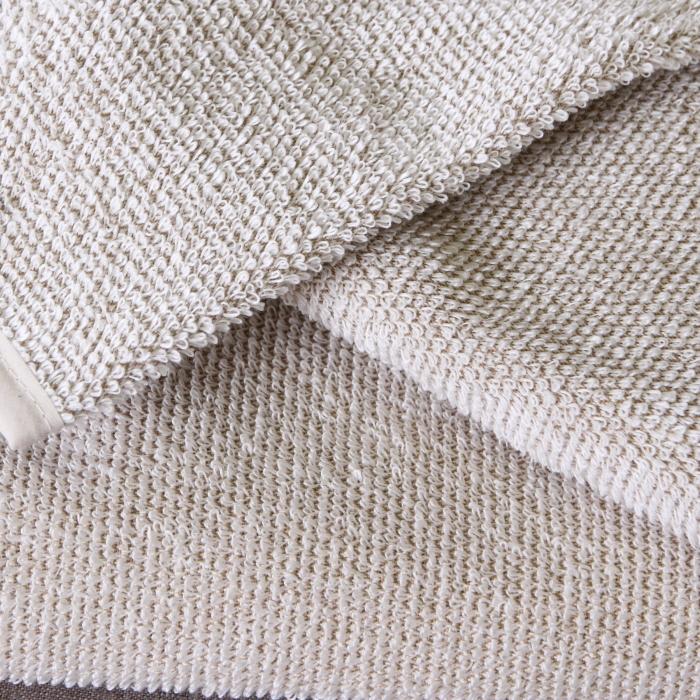 キュア 北欧 リネン パイル織 バスタオル60x130 /リッチバニラ
