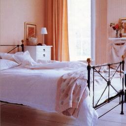 Classic ホワイト ベルギー リネン 枕カバー 封筒式45x85