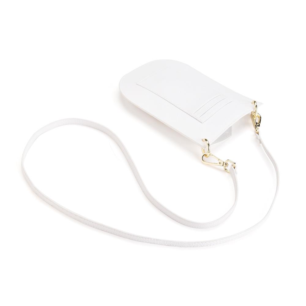 フォーン トラベル クロス ボディ - ホワイト