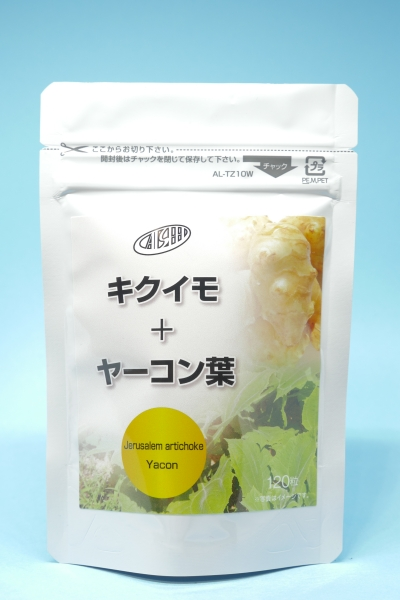 キクイモ+ヤーコン葉