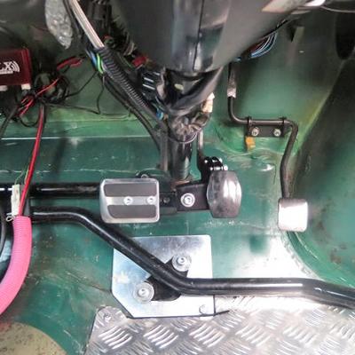 ローバーミニのゴーカートブレーキキット「カートでゴー」(AT専用)