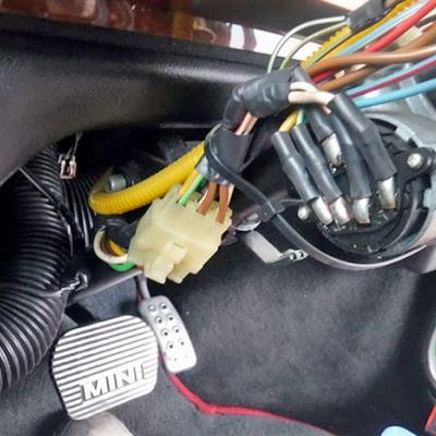 ローバーミニの暖機運転「リモコンエンジンスターター」