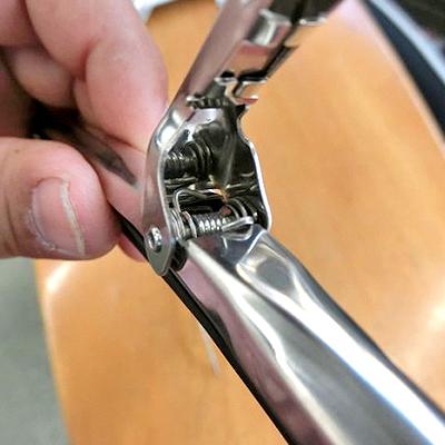 ローバーミニのワイパー「G-CLIMBオリジナルメッキワイパー」(アーム・ブレードセット)