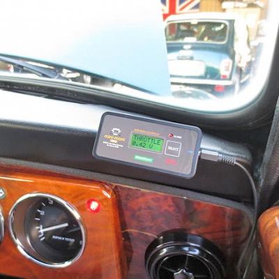 ローバーミニのECUライブデータモニター「ミニモニ mini」