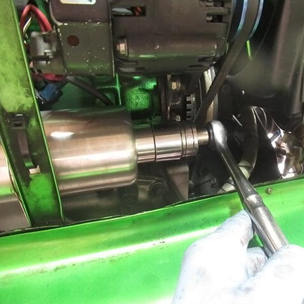 ローバーミニ 漏れないAT用オイルフィルターケース PECS変換用(オートマ用)|クラシックミニ専門店キャメルオート