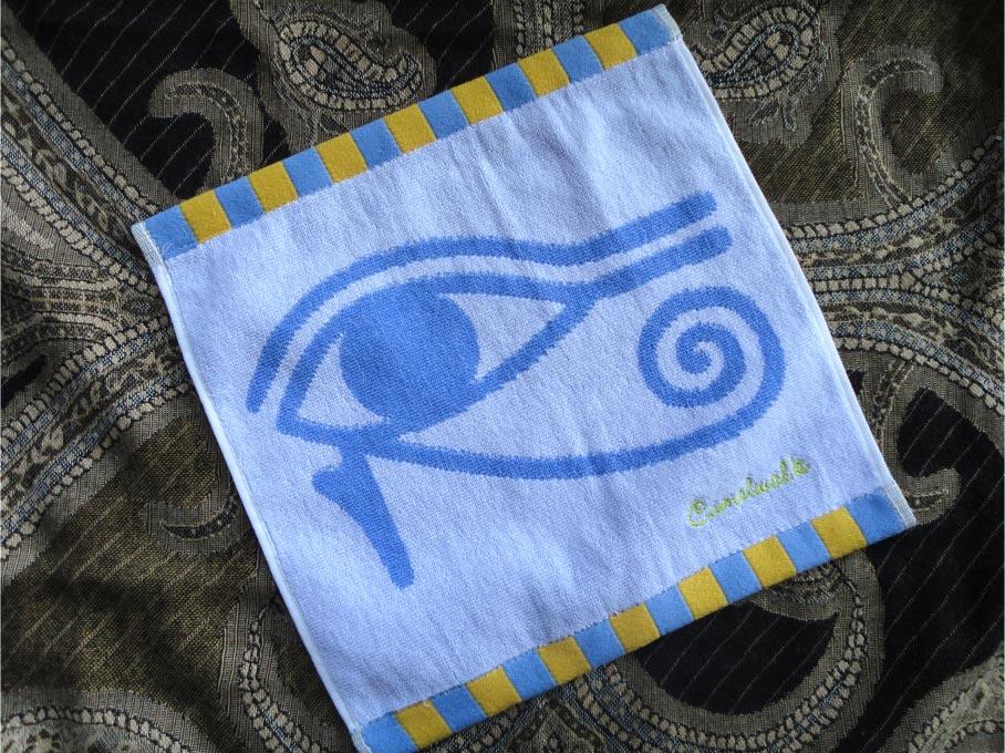 ★ タオルハンカチ (ホルス) Hand Towel