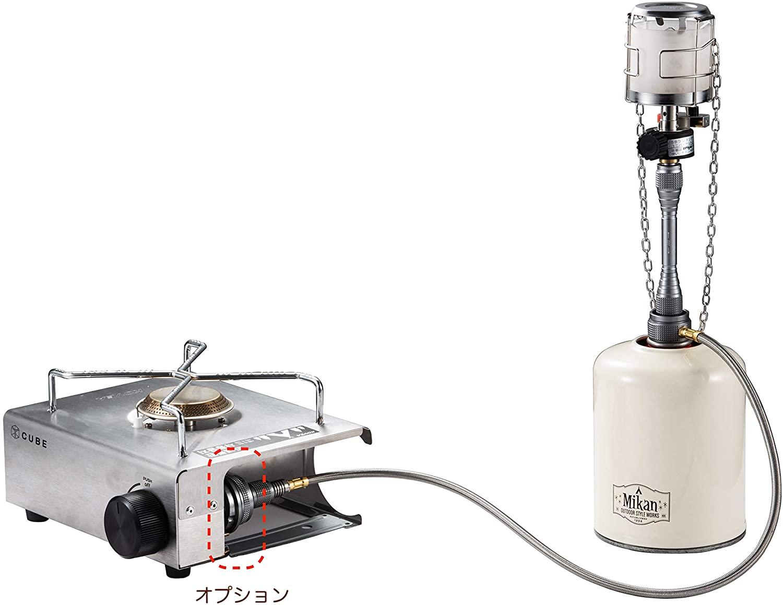 ツーウェイアダプターバーチカル ガス分岐アダプター 2WAY-1-IN-1 Z27/Z28-60