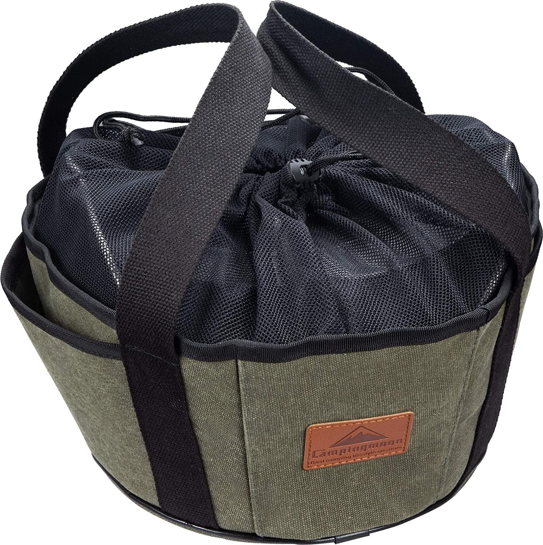 ダッチオーブン 10インチ ダッジオーブン用 帆布フリーバッグ DO-28BK
