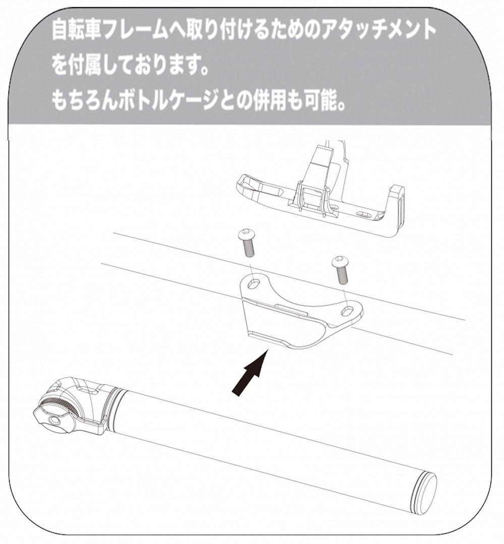 ベト(BETO)世界最小 ミニポンプ 自転車空気いれ 仏式 携帯用ポンプ 120psi PVP-003A レッド