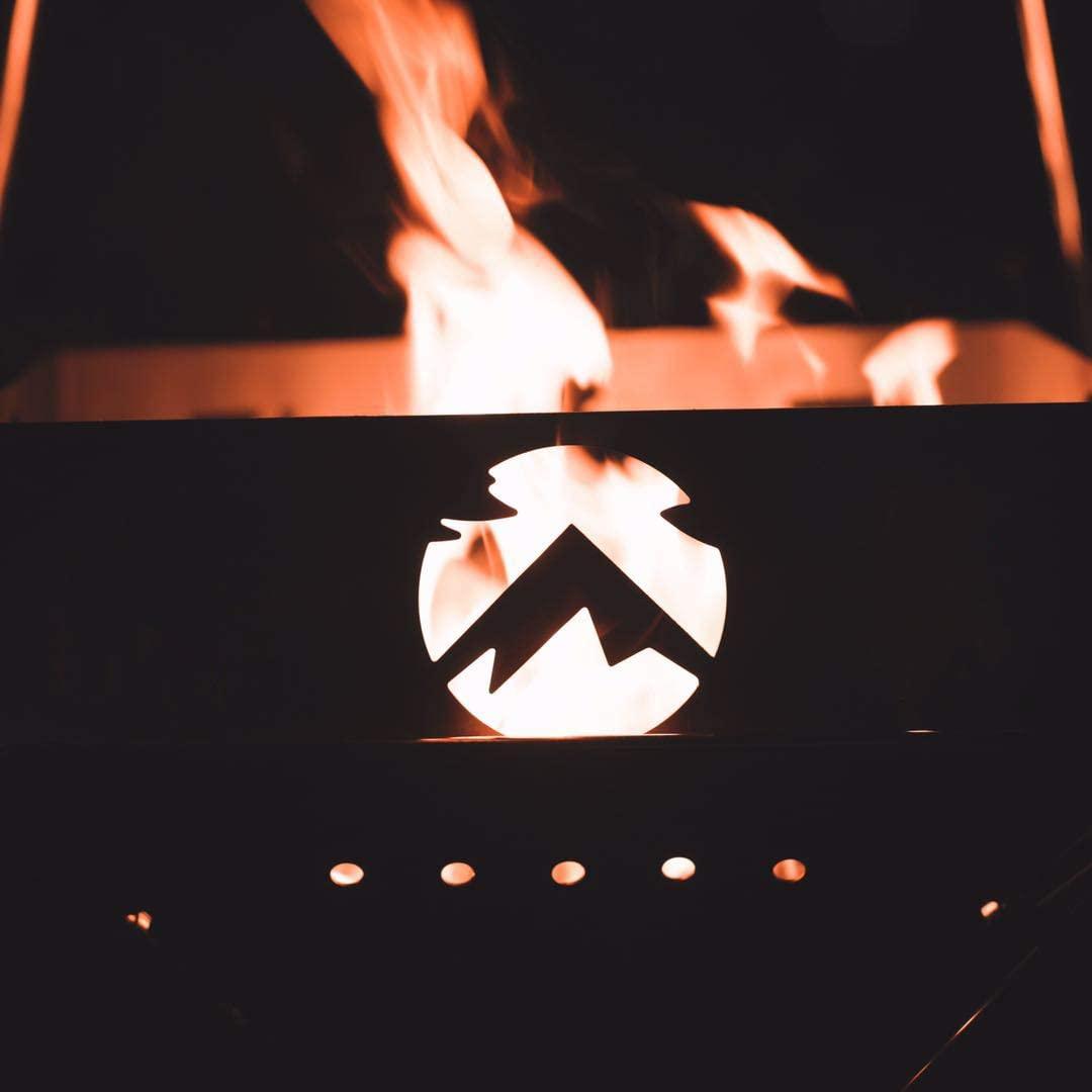 焚き火プレート ステンレス製 ファイアープレート サークルプレート TKB-360