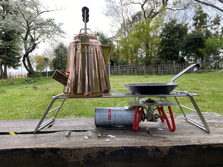 焚き火テーブル クッカースタンド φ6丸棒 焚き火 ロストル  MTG-TSC