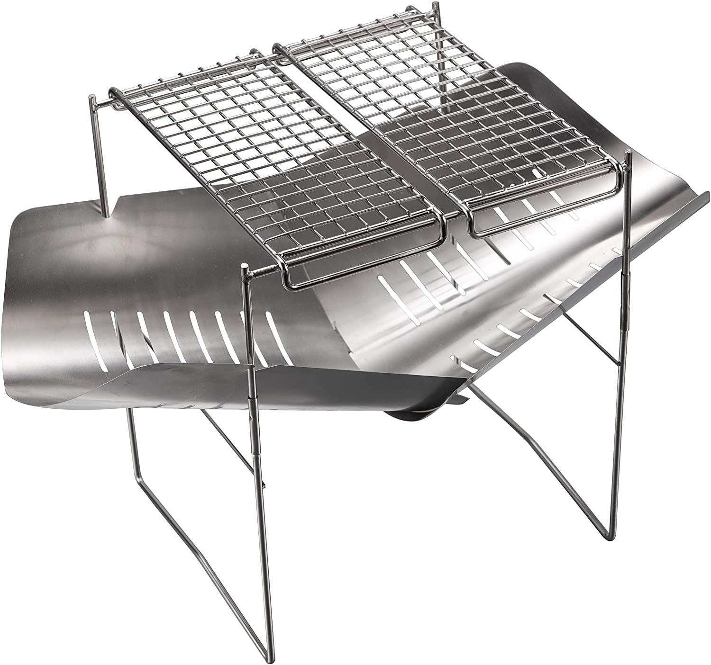 A4サイズ 軽量焚き火グリル用 ゴトク ステンレス ロストル MTG-G