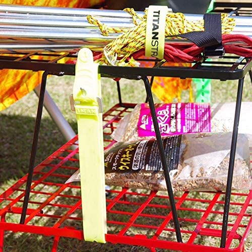 フィールドラック 赤 折り畳みラック 収納バック付き 本体T-230RD 2点/竹製天板フルセット T-230RD-2TP