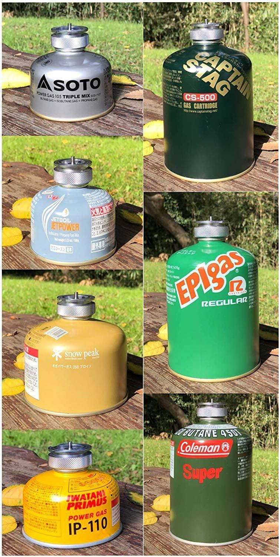 CB缶⇨OD缶へ 互換アダプター ねじ込み式 変換アダプター  ガスツール ST-310対応可能 Z13/Z21