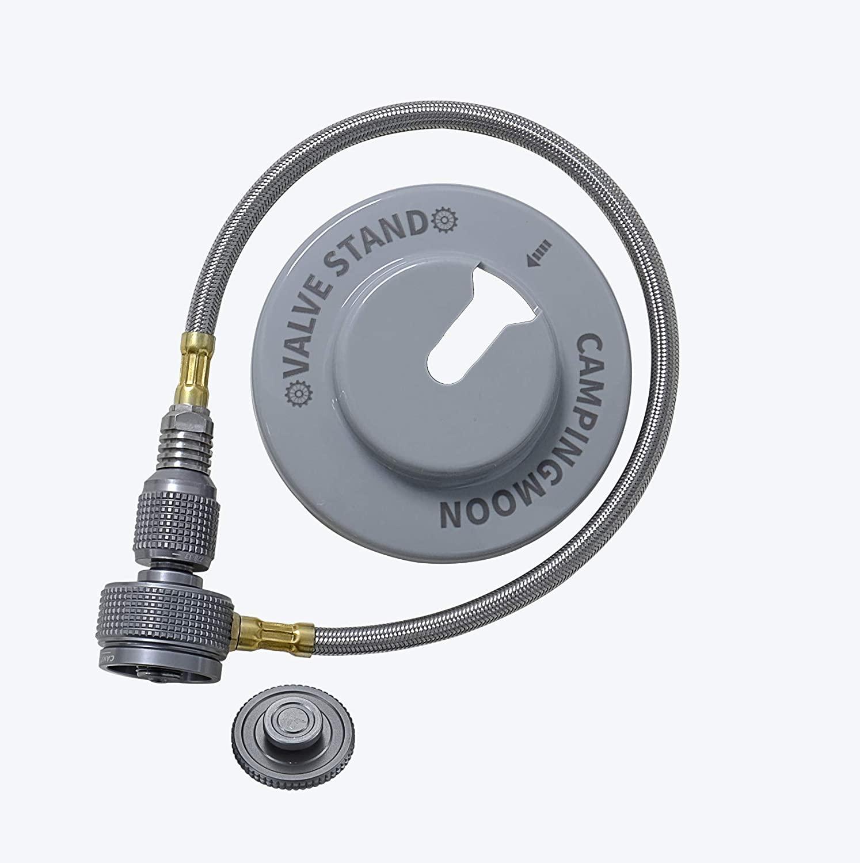ツーウェイアダプターバーチカル ツーバーナー用 ガス分岐アダプター Z28-33
