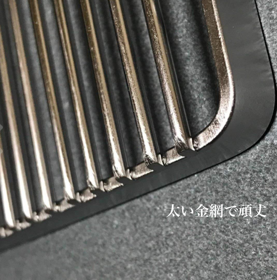 B6型 長目金網 焼アミ 1〜2人 焚き火台用 ステンレス 焼き網 W-015