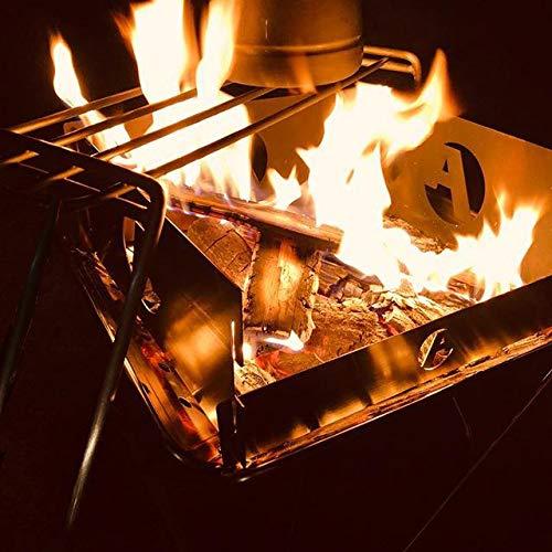 焚き火グリル ステンレス φ6丸棒  帆布ケース付き MTG-TL