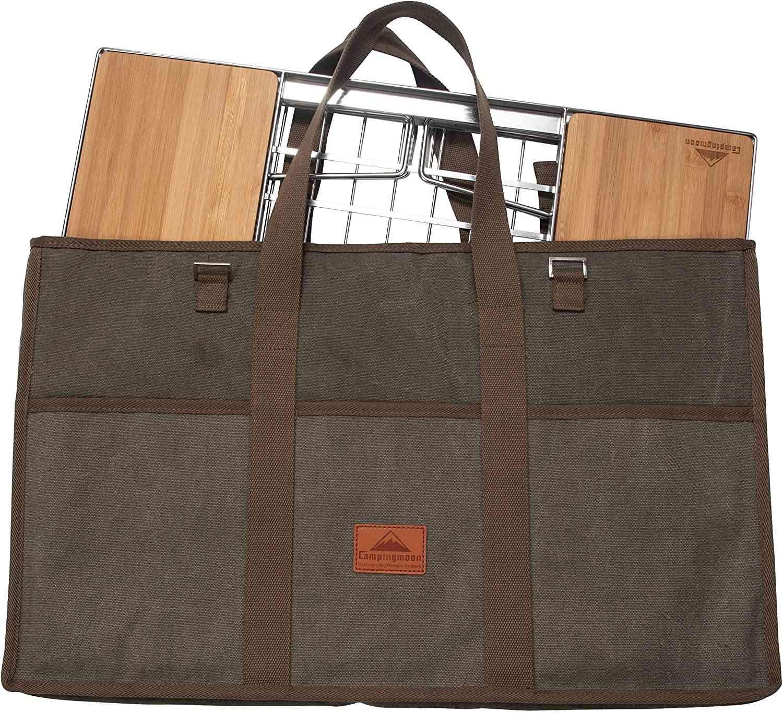 アウトドアテーブル用 収納袋 トートバッグ 帆布製 クッション入り CK-B