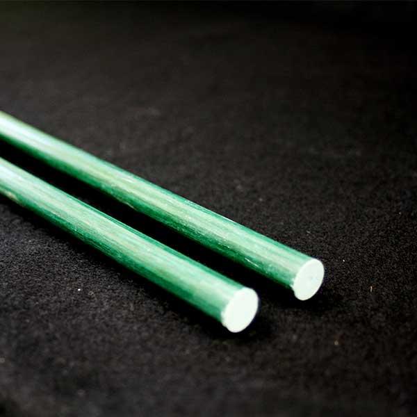 獣害対策 電気柵 グラスファイバーポール L1500mm 10型