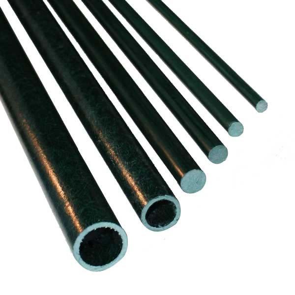獣害対策 電気柵 グラスファイバーポール L2000mm 10型