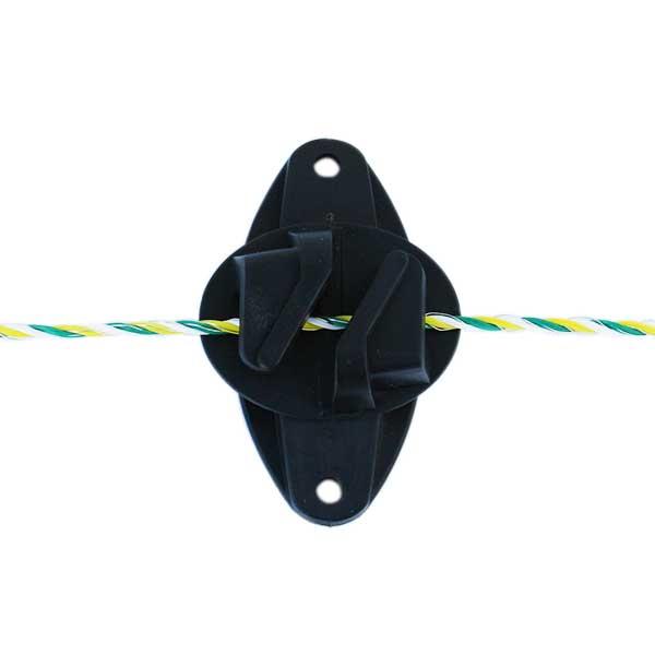 電気柵用碍子 スリットフック碍子 25個セット