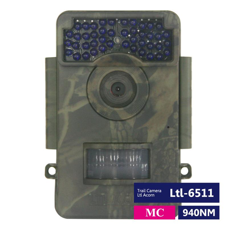 Ltl Acorn トレイルカメラ Ltl-6511MC/WMC 850NM/940NM PIR新センサー方式採用