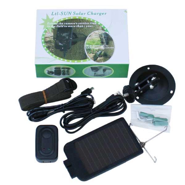 Ltl-SUN Solar Charger トレイルカメラ専用 ソーラーチャージャー