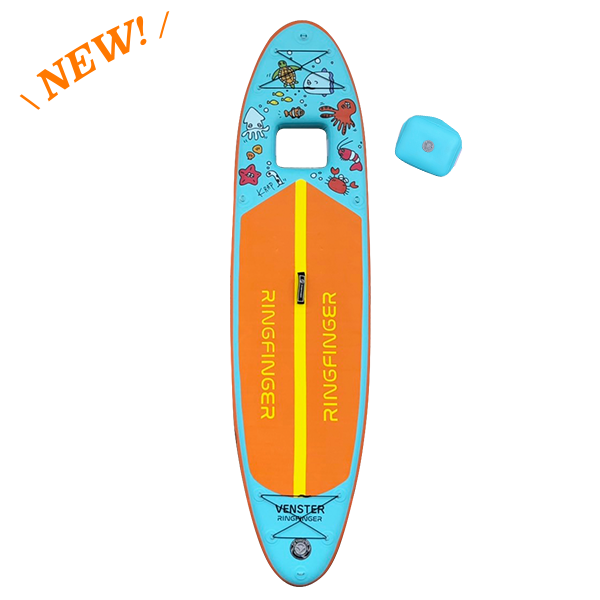 """【Inflatable SUPボード】 RINGFINGER VENSTER 10'6"""""""