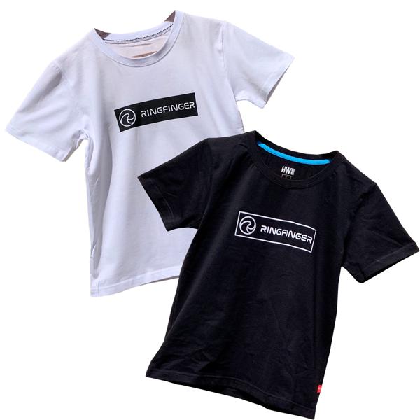 RINGFINGER ロゴTシャツ