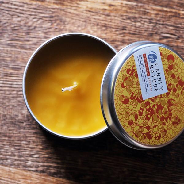 北海道天然蜜蝋キャンドル