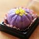 和菓子キャンドル「紫芋きんとん」