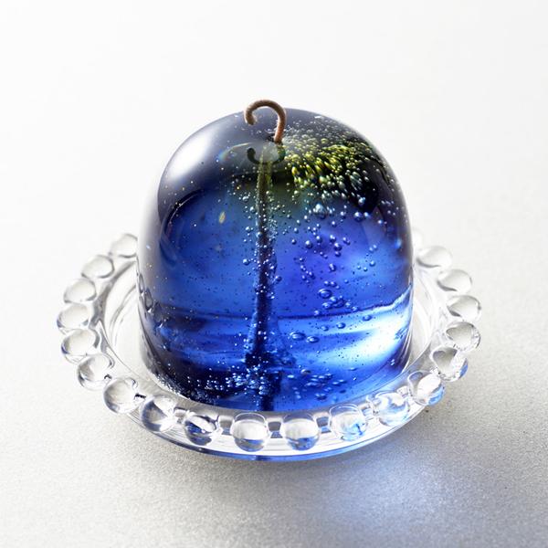 流星キャンドル(ソーサー付き)【クリスマスラベル期間限定】