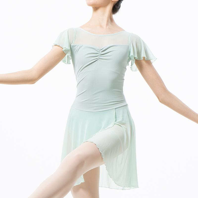 スカート付レオタードハニーベージュFL3002