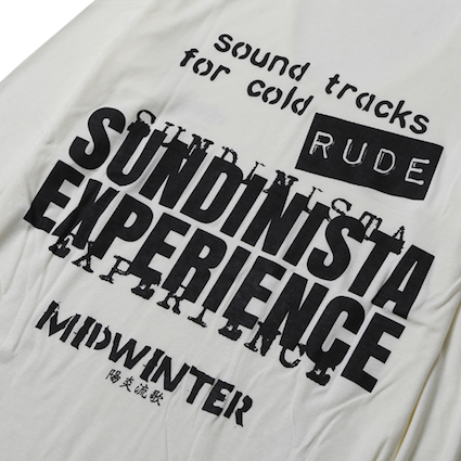 """FOR FROZEN Rude 陽炎流歌"" (WHITE)"