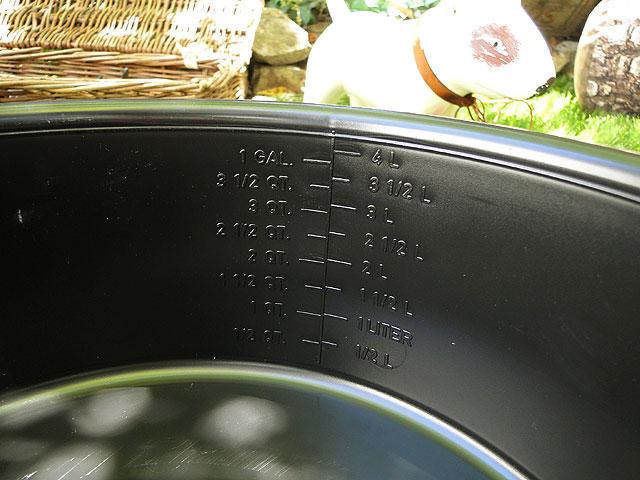 アメリカのタブバケツ 4.7L FORTIFLEX TUB 5QT(ブラック)