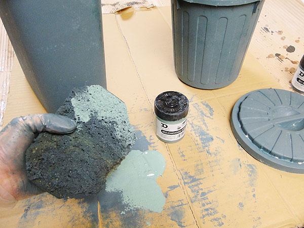サビサビ塗装用のオリジナル塗料単色(ブルーグリーン)50mlサイズ