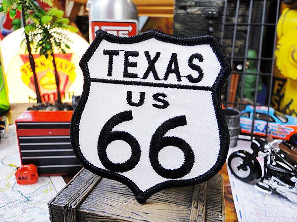 ルート66のワッペン(テキサス)
