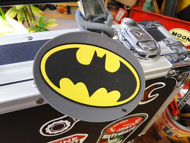バットマンのラゲッジタグ
