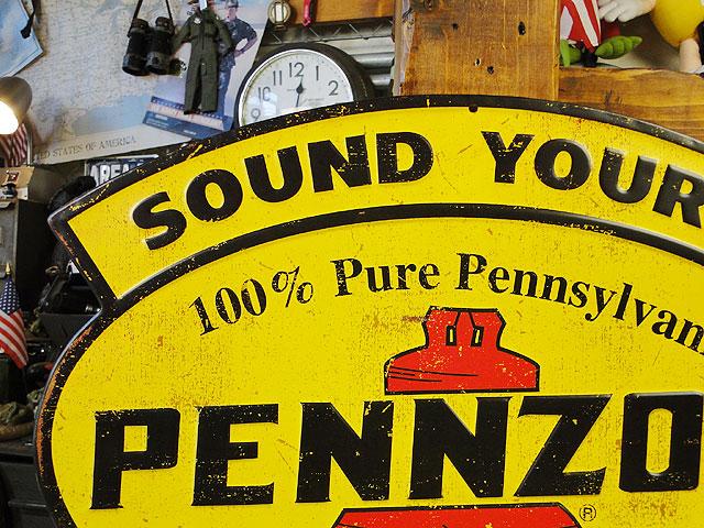 ペンズオイルのエンボスティンサイン(SOUND YOUR Z)