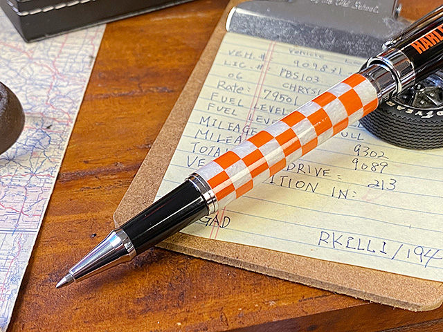 ハーレーダビッドソン チェッカーボールペン