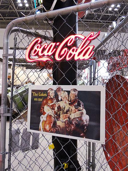 コカ・コーラブランド LEDミニレタリングサイン(Sサイズ)