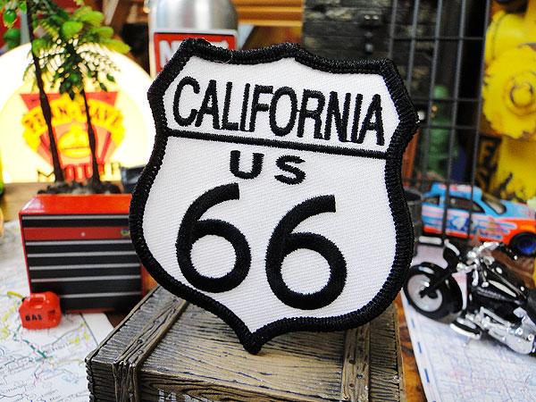 ルート66のワッペン(カリフォルニア)