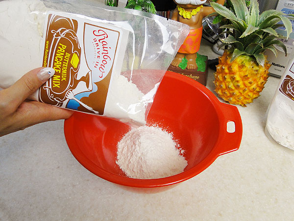 オバマ大統領が愛したハワイの人気店のおいしいパンケーキがおうちで焼ける! レインボードライブインのパンケーキミックス 500g ふわもちしっとり