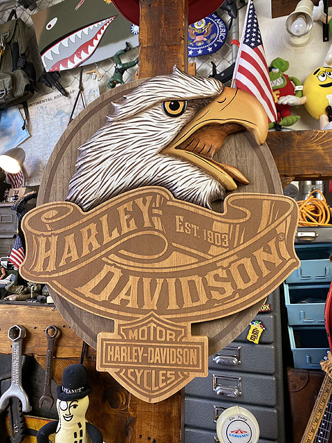 ハーレーダビッドソン ハーレーイーグルのパブサイン