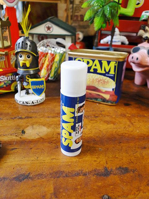 スパムのリップクリーム SPF30(バニラの香り)