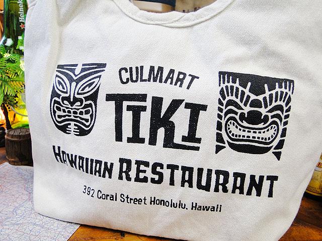 カルチャーマートのハワイアンミニトートバッグ(ブラック)